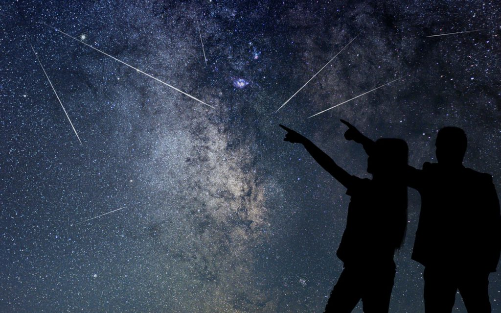 Here they are again: the Perseids.  The meteor shower reaches its peak on these nights.  These are the best times to spot them (update 9/8)