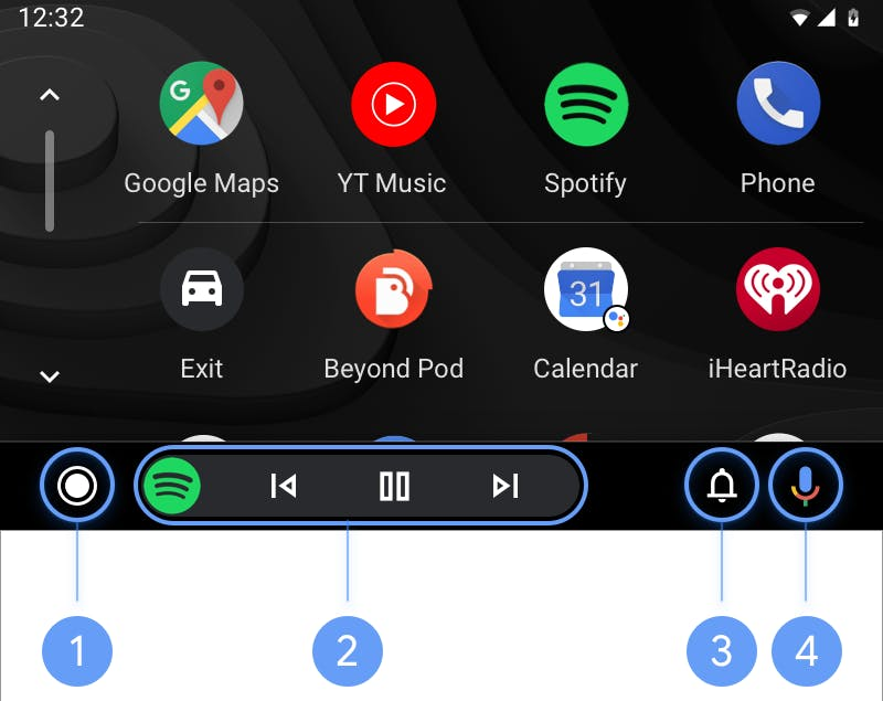 Install Android Auto apps, this is how it works
