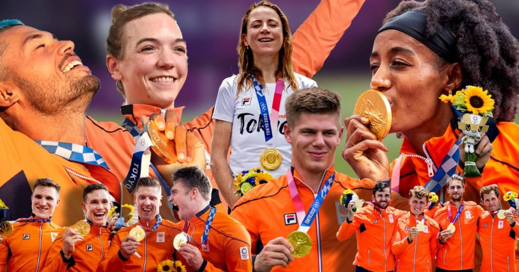 Medal mirror: Lavreysen takes Netherlands to eight gold medals |  Olympic Games |  July 23 - August 8