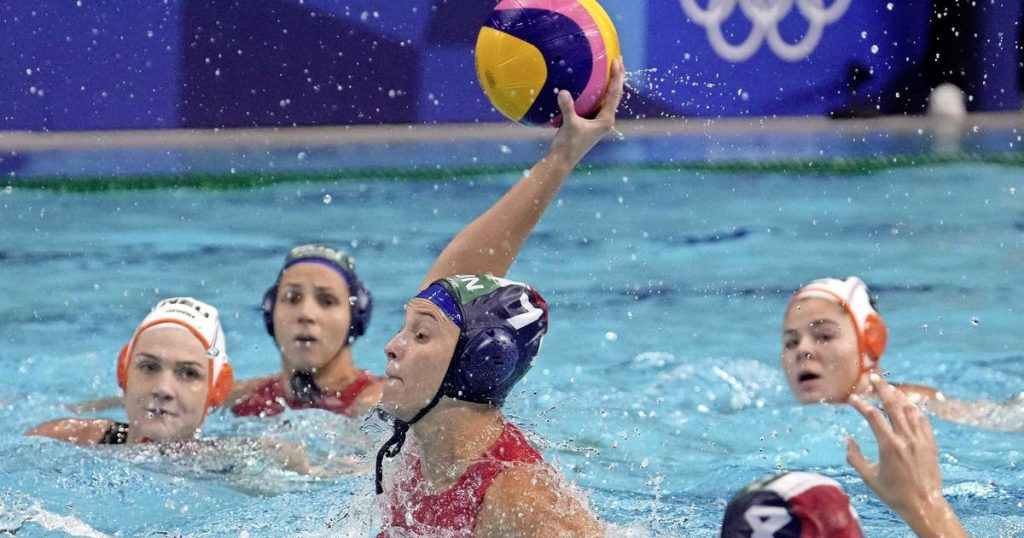 Orange water polosters fail in the quarter-finals of the Olympic tournament |  sport
