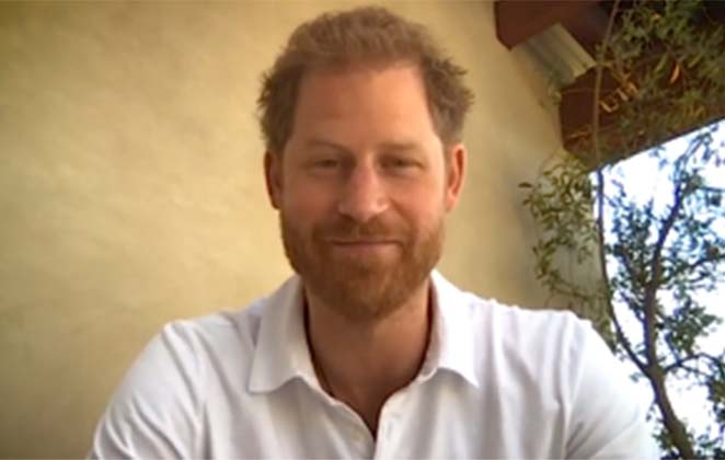 Prince Harry returns to UK to record Netflix