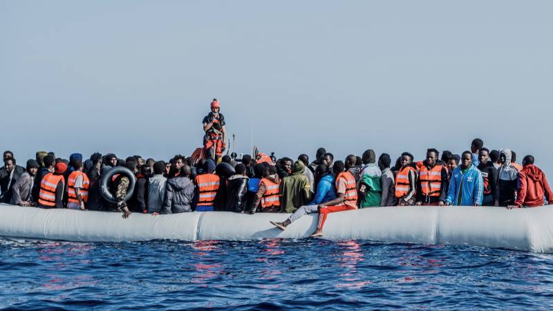 Red Cross: the number of migrants killed during a sea crossing triples