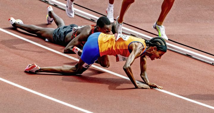 Sifan Hassan despite a fall to 1500 meters |  sport