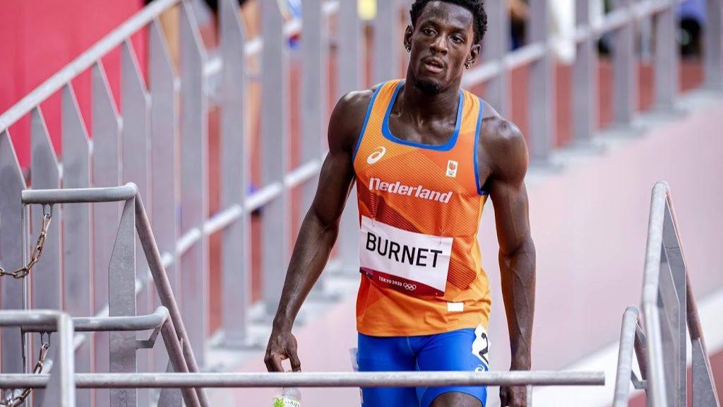 Sprinter Burnet fails to reach 200-meter final at Tokyo Games