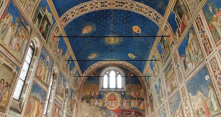 The frescoes of Padua are listed as World Heritage