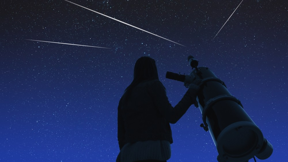 """This allows you to see a """"rain of shooting stars"""" on Wednesday evening"""