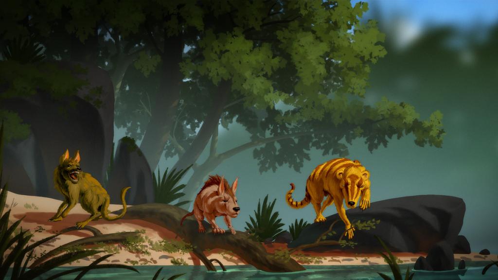 Three extinct mammals found in Wyoming that were part of the post-dinosaur revolution