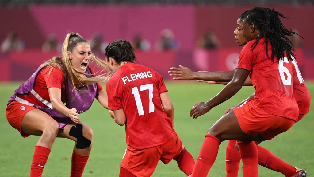 Tokyo 2020    Canada in soccer final at the expense of the United States
