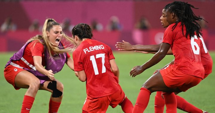 Tokyo 2020 |  Canada in soccer final at the expense of the United States