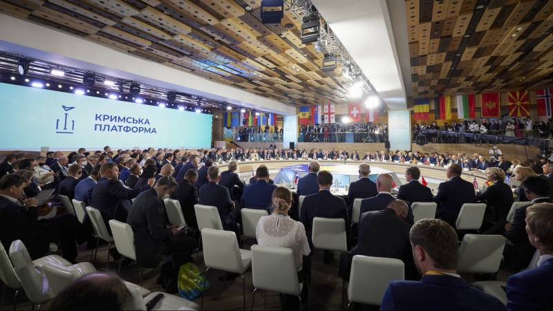 Ukrainian President Zelensky at the Crimean summit: countdown to end of occupation