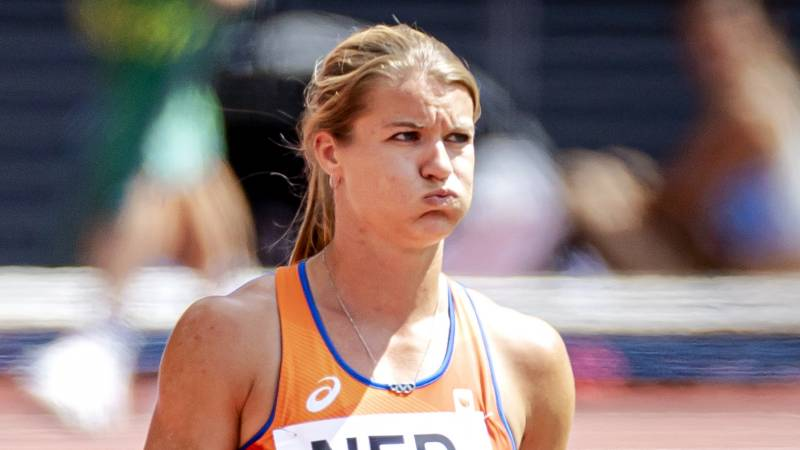 """Women's relay despite a difficult passage at the last 4x100 meters: """"Fortunately another chance"""""""