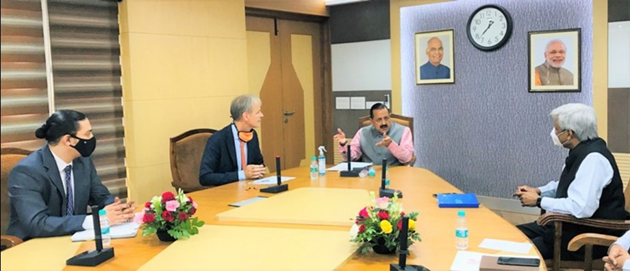 dr.  Jitendra Singh emphasizes Indo-Dutch cooperation in health and agriculture