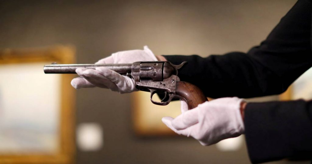 revolver that killed Billy the Kid auctioned for $ 6 million |  Abroad