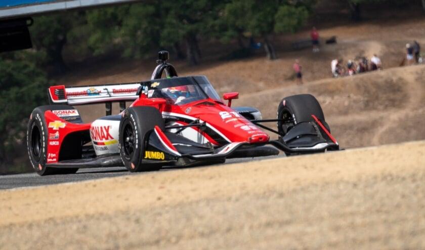 Poor communication thwarts VeeKay's catch-up race at Laguna Seca |  HC News