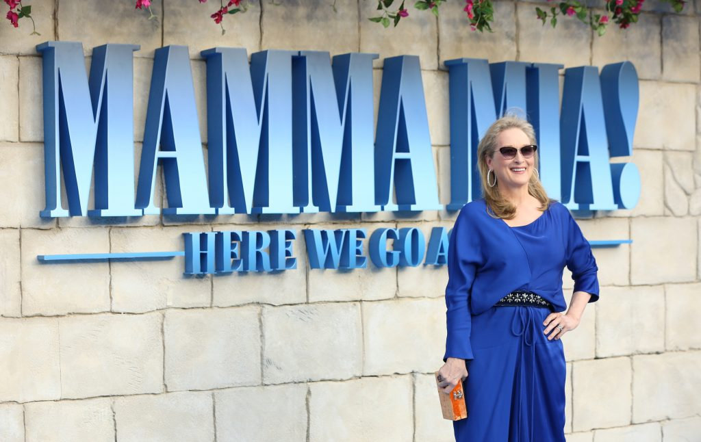 Mamma Mia 2 is on Netflix