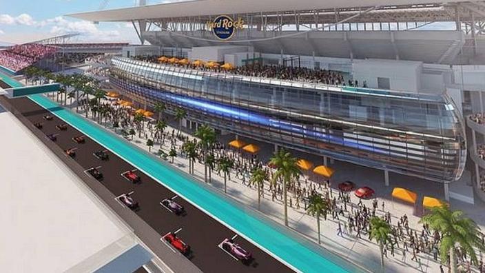 """Miami GP ingevuld op kalender: """"Deze locatie moet zorgen voor onvergetelijke ervaring"""""""