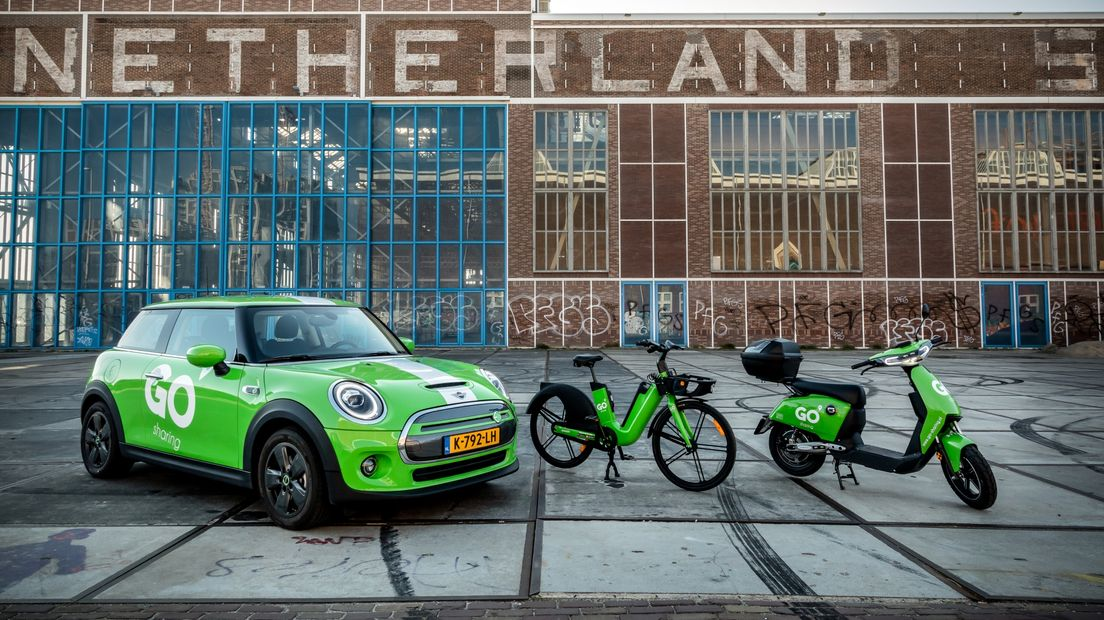GO hopes to return to Groningen in the future with cars, bikes and / or scooters