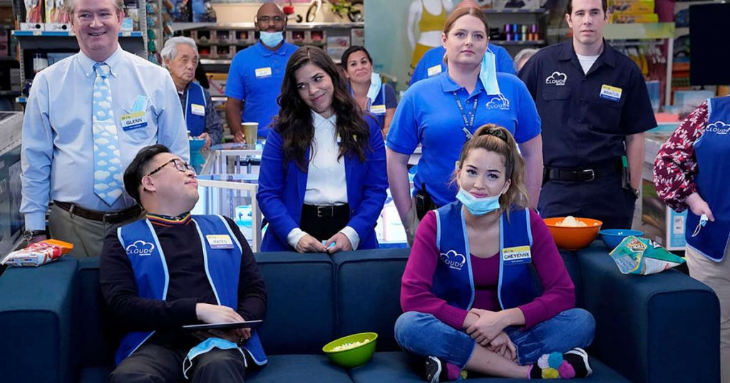 5 seasons of the great series 'Superstore'