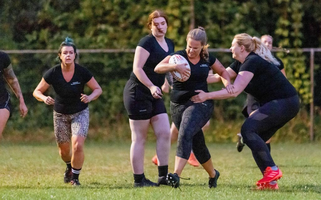 A group of friends creates a women's rugby association in Meppel: the Black Panthers