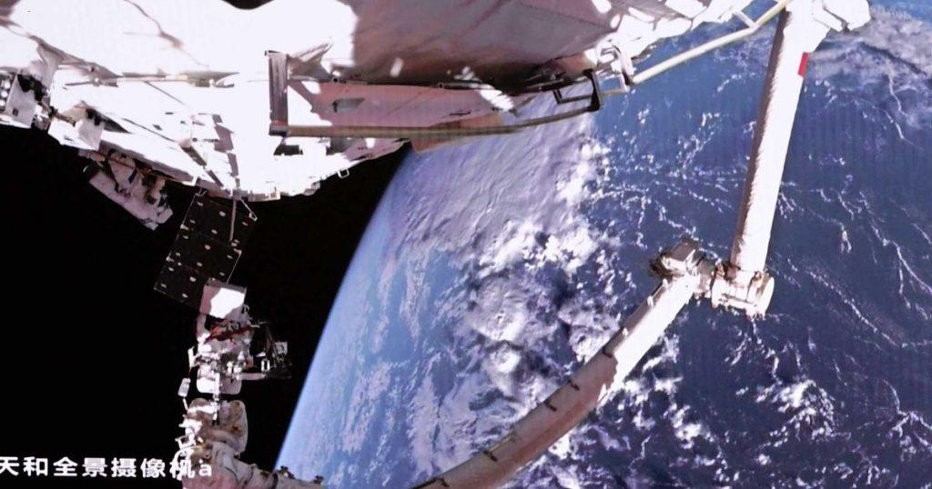 China's latest shot: a kilometer-long space station |  Abroad