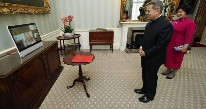Chinese ambassador unwelcome in UK House of Commons due to sanctions