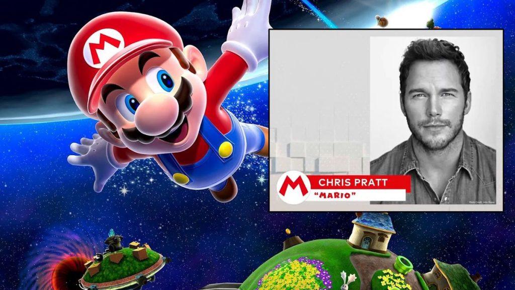 Chris Pratt to play Mario in upcoming Super Mario movie