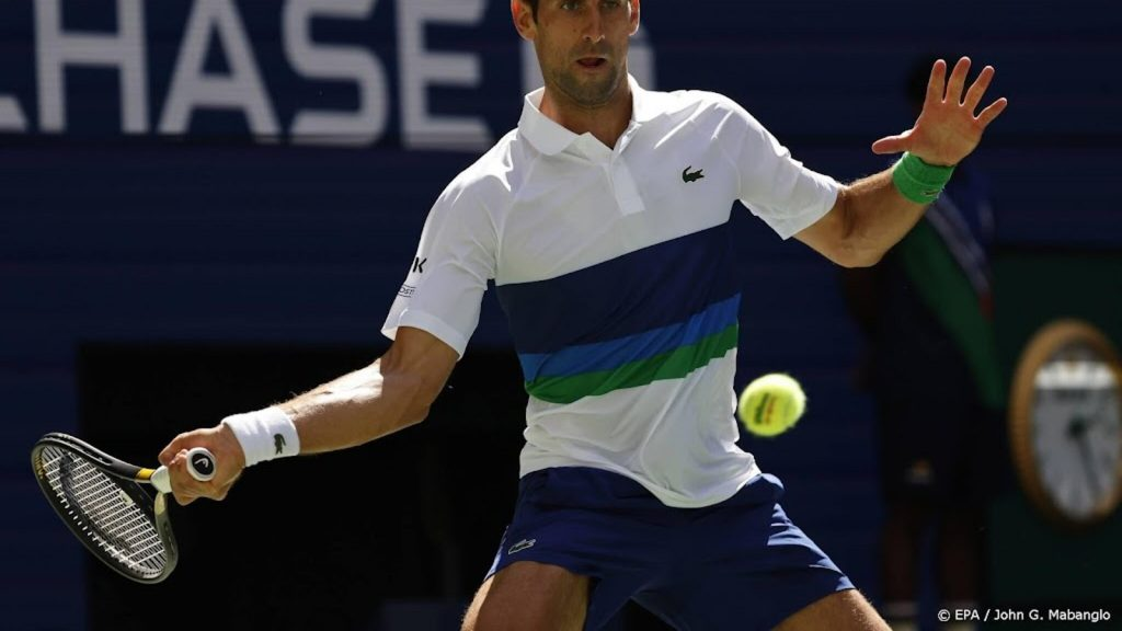 Djokovic at the expense of Nishikori in the fourth round of the US Open