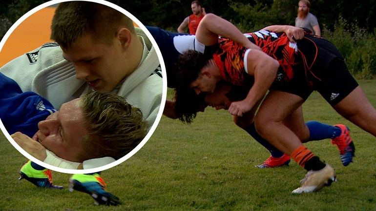 From judo to rugby: Sjors Riddersma also wants to reach the top at Oemoemenoe