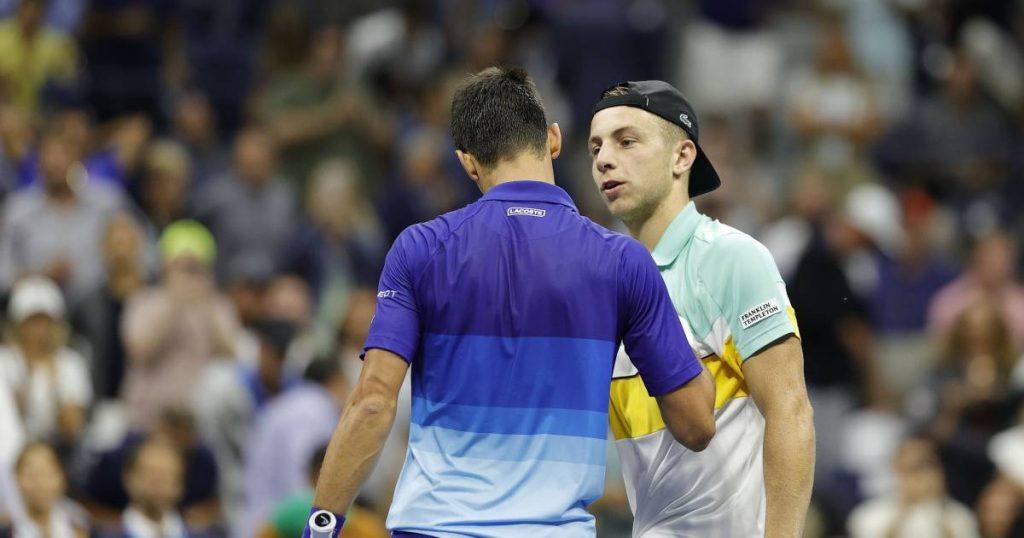 "Greek track piece for Djokovic: ""I didn't feel well at all"" |  sport"