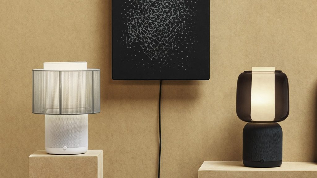 IKEA and Sonos unveil new lamp speaker with interchangeable cap