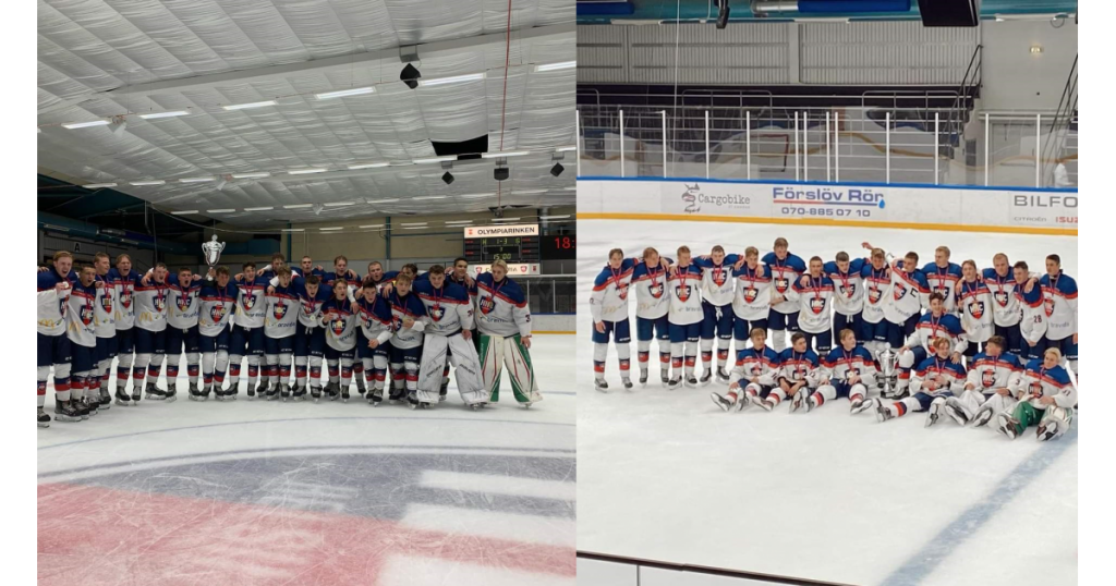 Ice hockey player Sam Luitwieler wins first place at Scandic Throphy 2021 tournament
