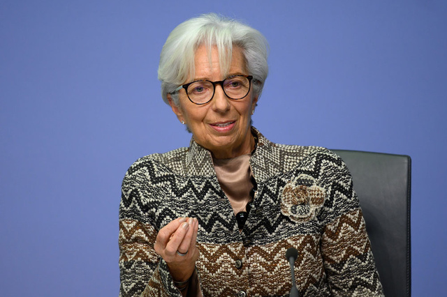 Lagarde (ECB): 'Potential bankruptcy restricts risk to Evergrande eurozone'