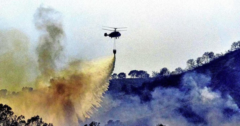 More evacuations on the Costa del Sol on the fifth day of the Spanish forest fires    Abroad