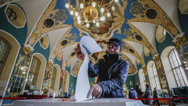 Numerous reports of fraud in Russian parliamentary elections