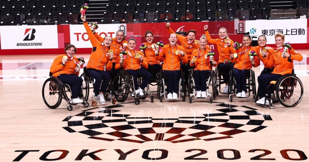 Paralympic Games medal mirror: Netherlands finish with 25 gold medals in fifth place |  Paralympic Games
