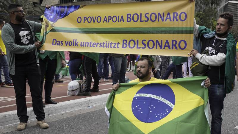 Protests in a tense atmosphere on Brazil's independence day