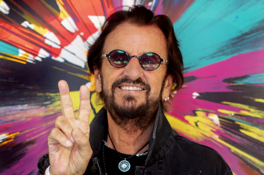 """Ringo Starr: """"Charlie had a band harder than me"""" (interview)"""
