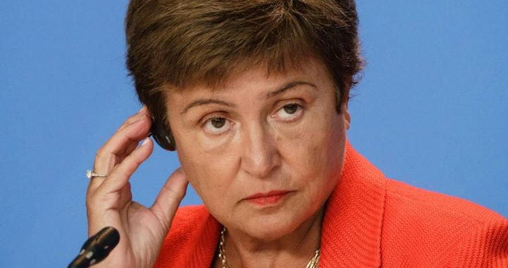 The IMF has fired the best woman ever since she worked at the World Bank