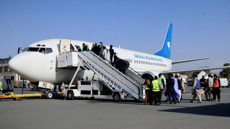 """The first regular flights from Kabul airport started """"without functional radar"""""""