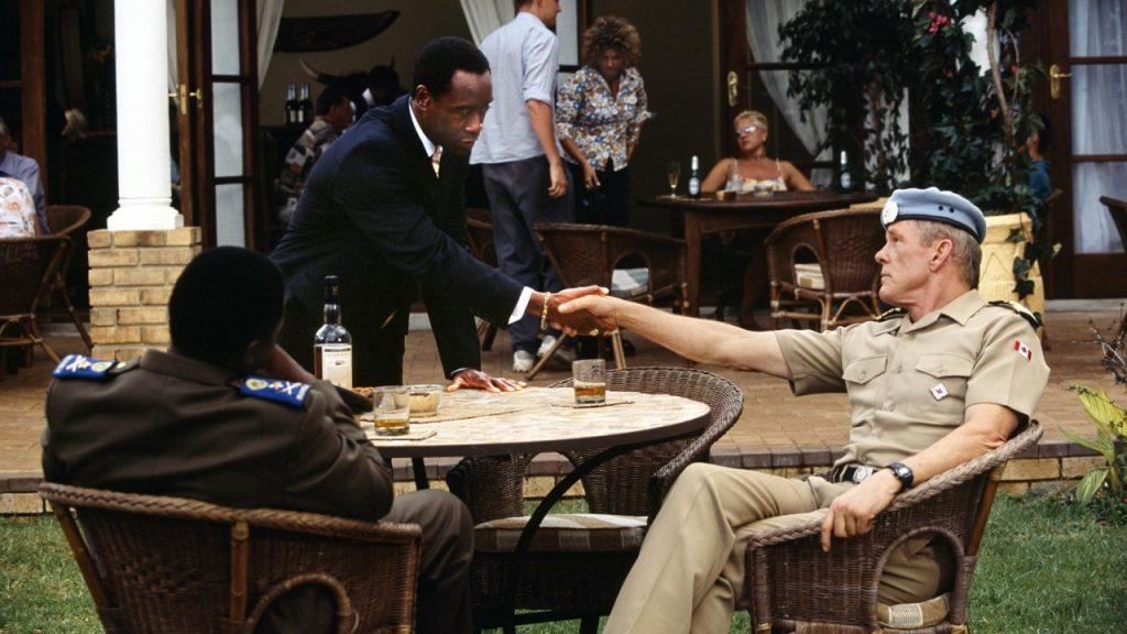 The hero of the film 'Hotel Rwanda' receives 25 years in prison