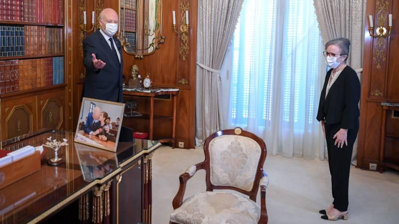 Tunisia appoints woman prime minister amid political turmoil