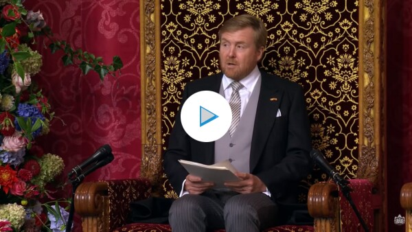 Watch LIVE the Prinsjesdag 2021 (Tuesday September 21)