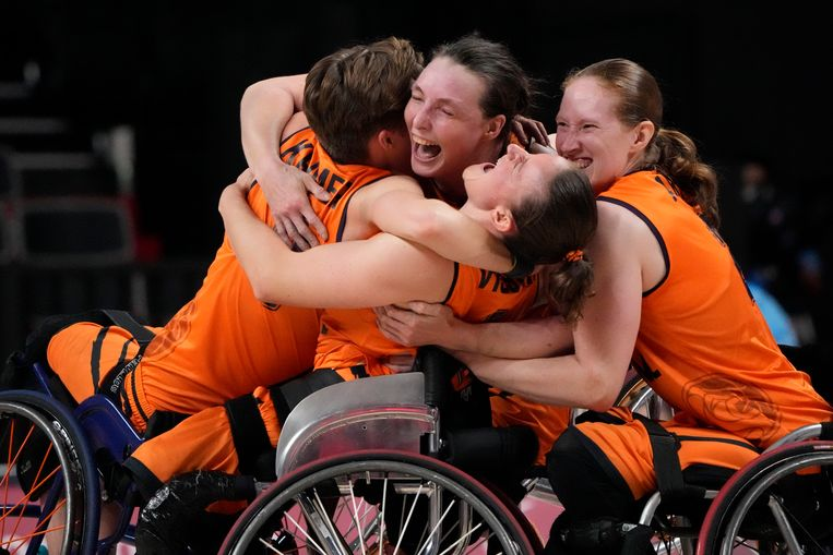 Wheelchair basketball players break free from Paralympic trauma with victory over Germany