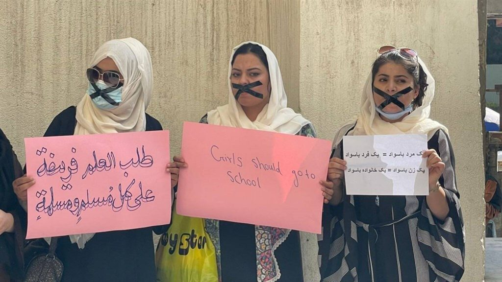 """Women civil servants in Kabul """"must stay at home unless the work can be done by the man"""""""