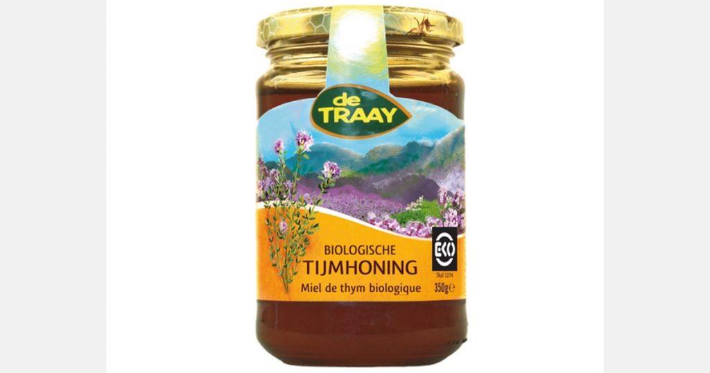 New organic thyme honey from de Traay