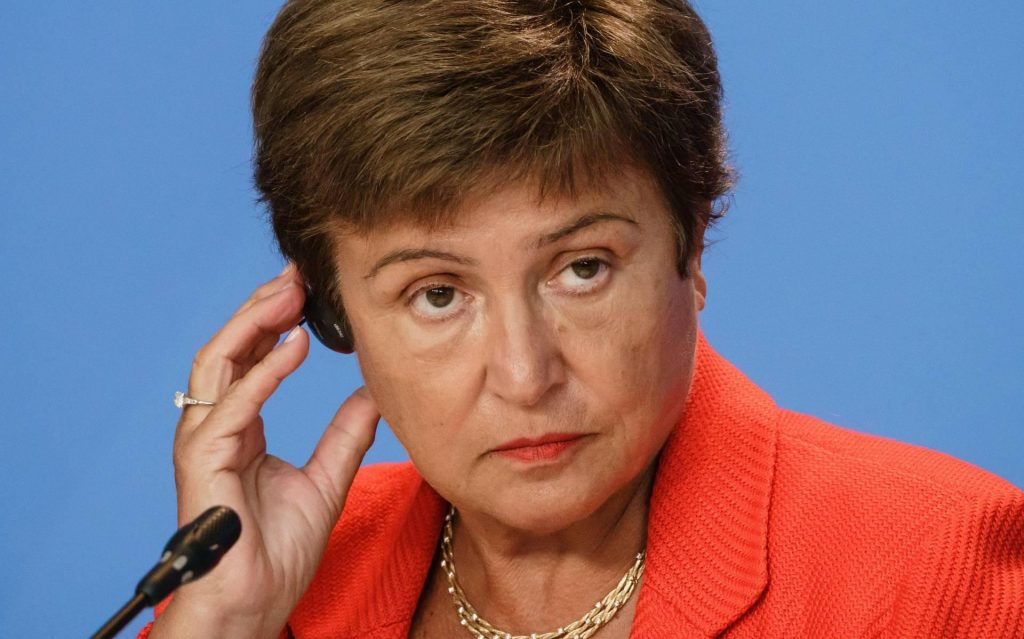 IMF board meeting on Sunday about the best woman Georgieva