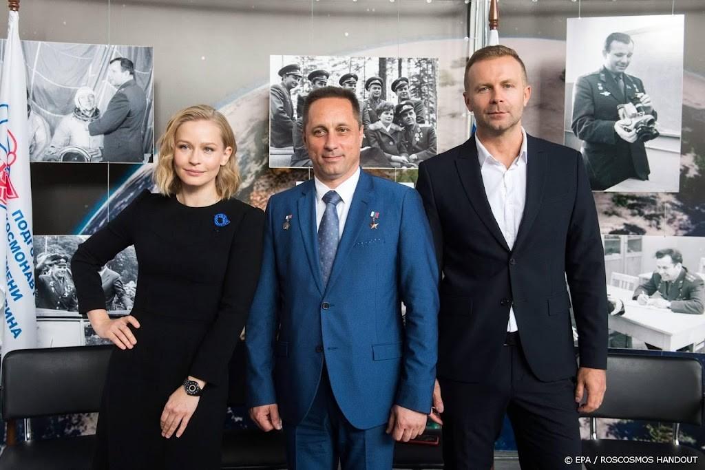 ISS space station becomes a film set - Noordhollands Dagblad