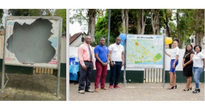 JCI Paramaribo schenkt gemeenschap vernieuwde stadskaart