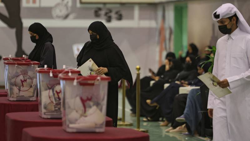 Almost half of voters run for Qatar's first parliamentary elections