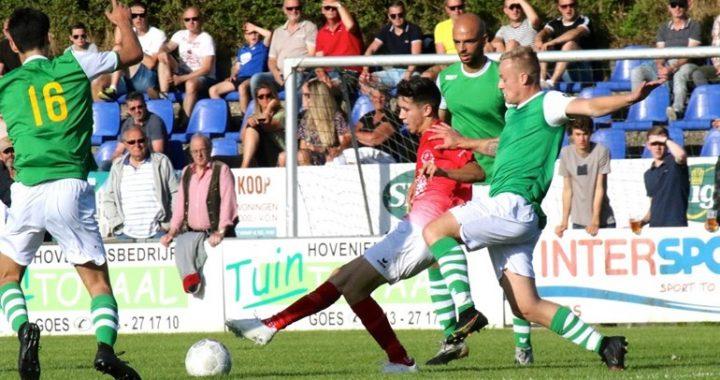 GOES can chase goals against Harkemase Boys with Elloukmani